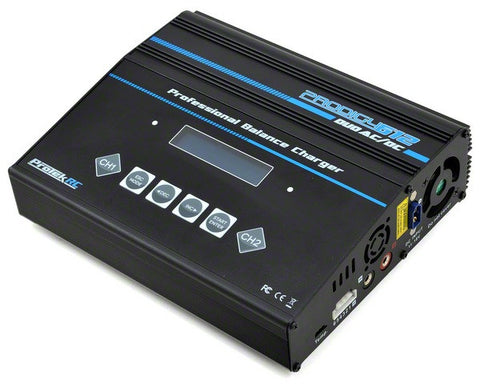 PROTEK RC PRODIGY 612 DUO AC LIPO/LIFE/NIMH AC/DC BATTERY CHARGER , Charger - ProTek, Fastlaphobby.com LLC