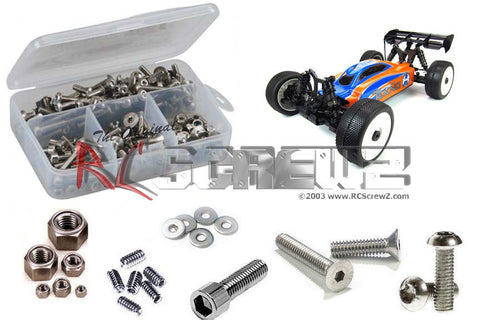 RC SCREWZ TEKNO RC EB48 1/8 BUGGY STAINLESS STEEL SCREW KIT , Hardware - RC Screwz, Fastlaphobby.com LLC