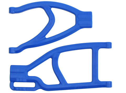 RPM EXTENDED LEFT REAR A-ARMS FOR TRAXXAS SUMMIT & REVO BLUE , A-arms - RPM, Fastlaphobby.com LLC