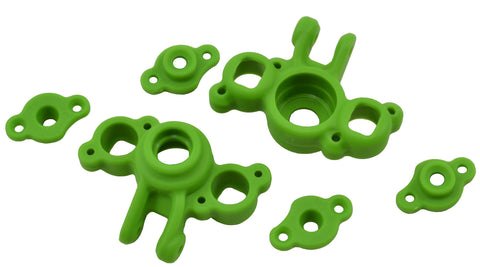 RPM AXLE CARRIERS TRAXXAS 1/16 REVO/SLASH - GREEN , Axle carriers - RPM, Fastlaphobby.com LLC
