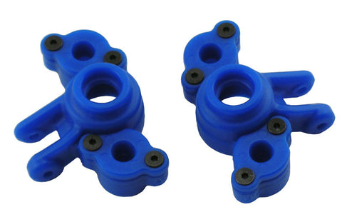 RPM AXLE CARRIERS TRAXXAS 1/16 REVO/SLASH - BLUE , Axle carriers - RPM, Fastlaphobby.com LLC