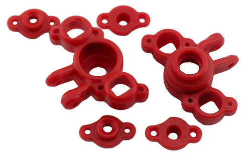 RPM AXLE CARRIERS FOR TRAXXAS 1/16 E-REVO AND 1/16 SLASH - RED , Axle carriers - RPM, Fastlaphobby.com LLC
