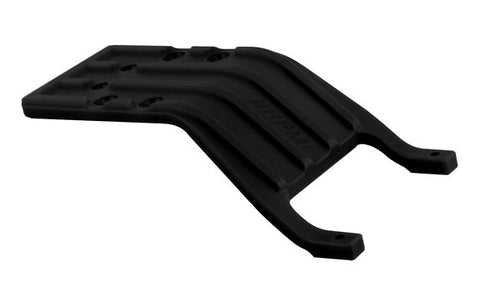 RPM REAR SKID PLATE FOR TRAXXAS SLASH - BLACK , Skid plate - RPM, Fastlaphobby.com LLC