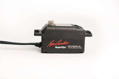 SAVOX 2263MG-CE RYAN CAVALIERI EDITION LOW PROFILE BRUSHLESS SERVO