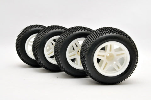 HABAO MOUNTED TRUCK TIRES FOR HYPER TT #11105 , Tires - Off road - Habao, Fastlaphobby.com LLC