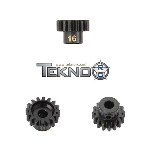 TEKNO RC M5 PINION GEAR 16T (MOD1, 5MM BORE, M5 SET SCREW) , pinions - Tekno, Fastlaphobby.com LLC
