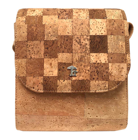 Binocular, Natural/Checkerboard - Cork