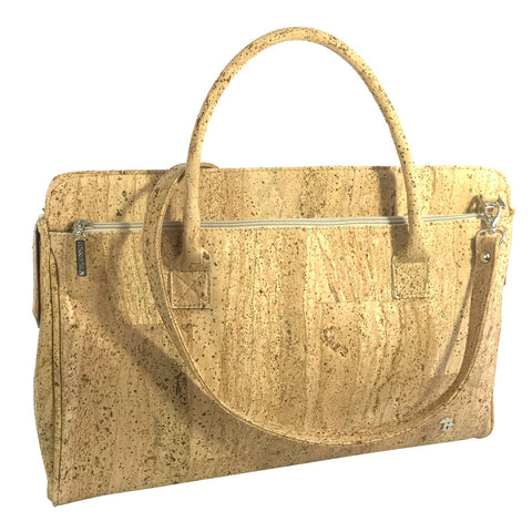 Briefcase, Natural - Cork