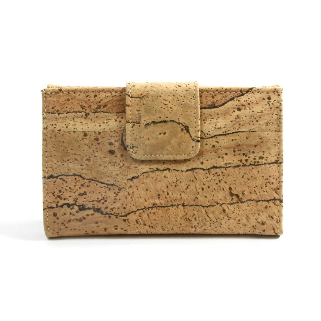 Ladies Wallet, Zebra Wallet - Cork