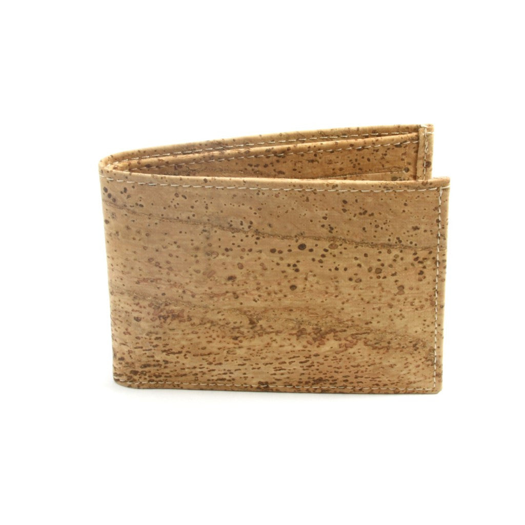 Credit Card Wallet, Natural - Cork