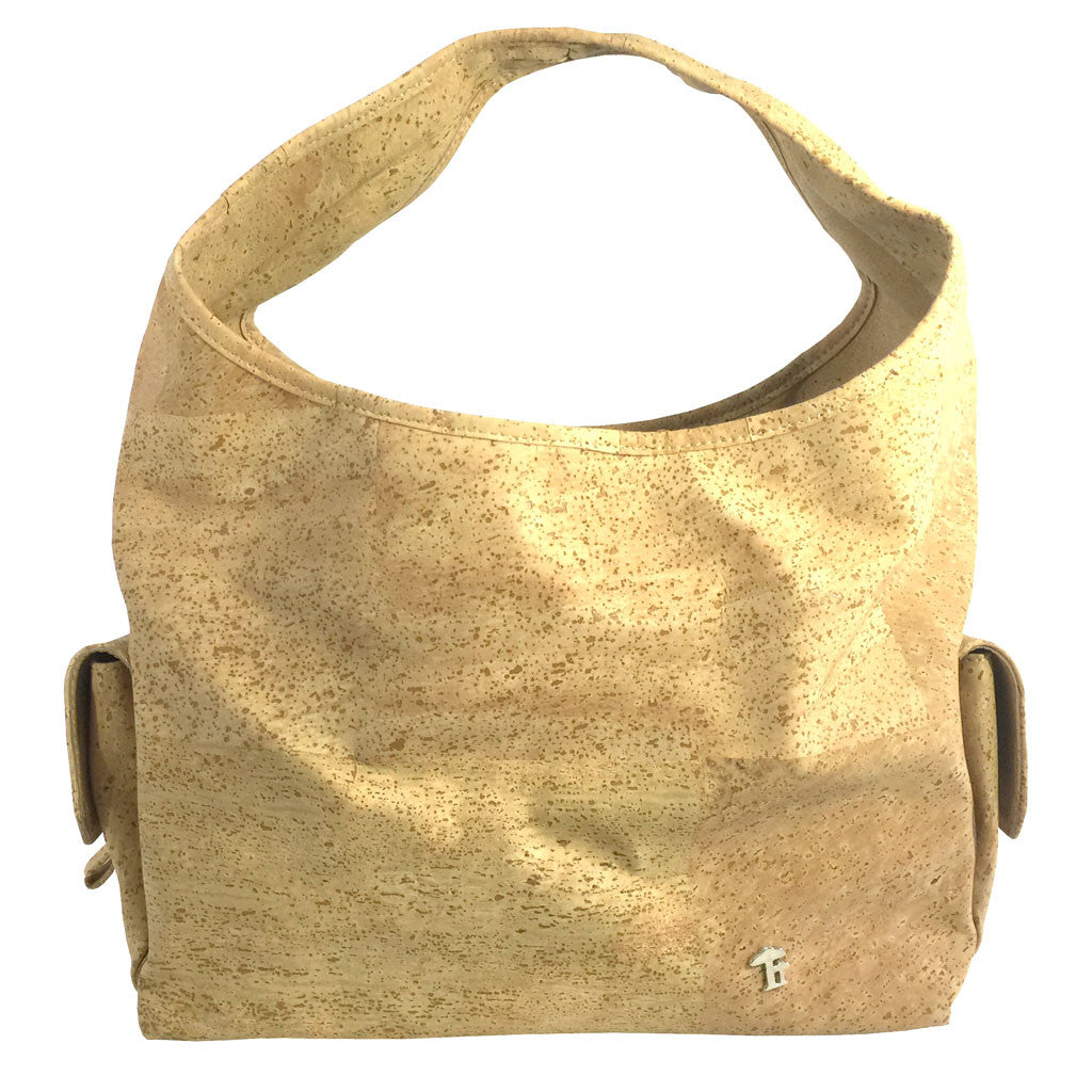Mia, Blond Shoulderbag - Cork
