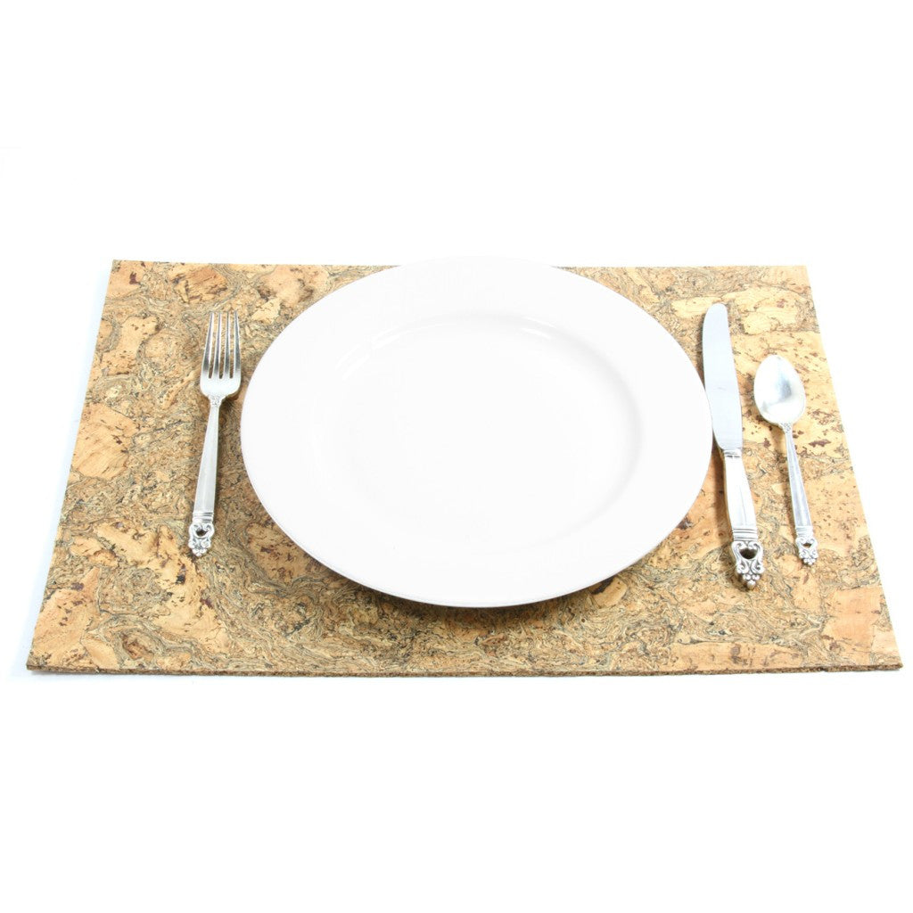 Placemat, Organic Granite, each - CURRENTLY OUT OF STOCK - Cork