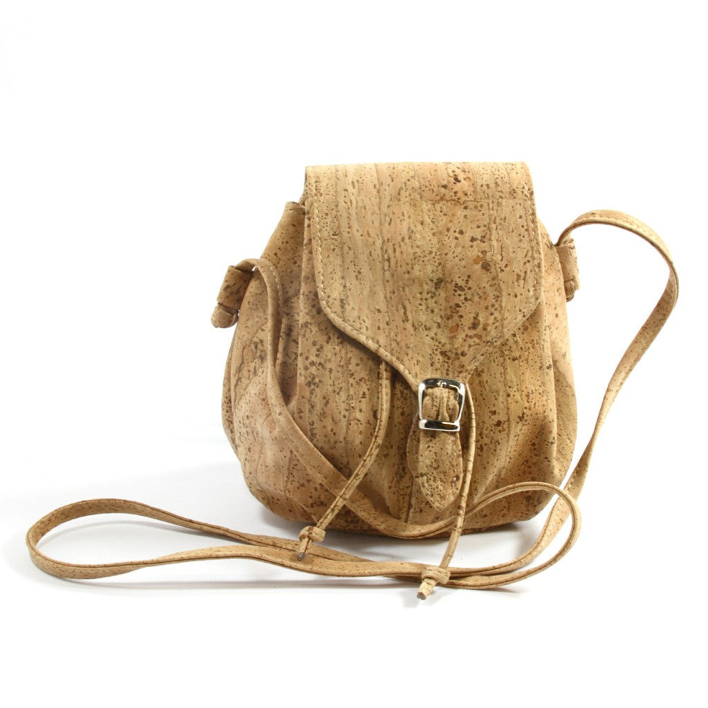 Le Pouch, Natural Shoulderbag - Cork