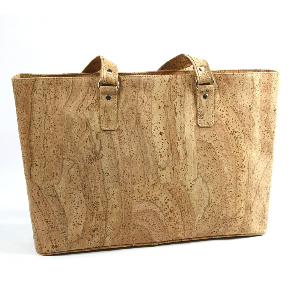 Large Tote, Natural - Cork