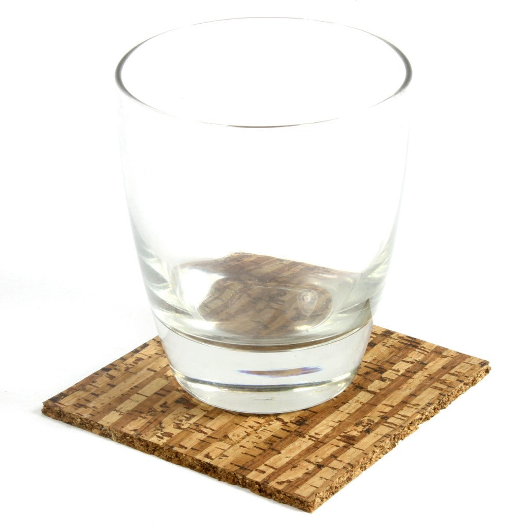 Coaster, Hawaii, Set of 4 - Cork