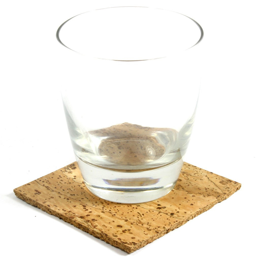 Coaster, Natural, Set of 4 - CURRENTLY OUT OF STOCK - Cork