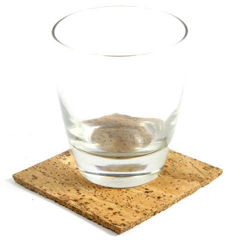 Coaster, Natural, Set of 4 - CURRENTLY OUT OF STOCK