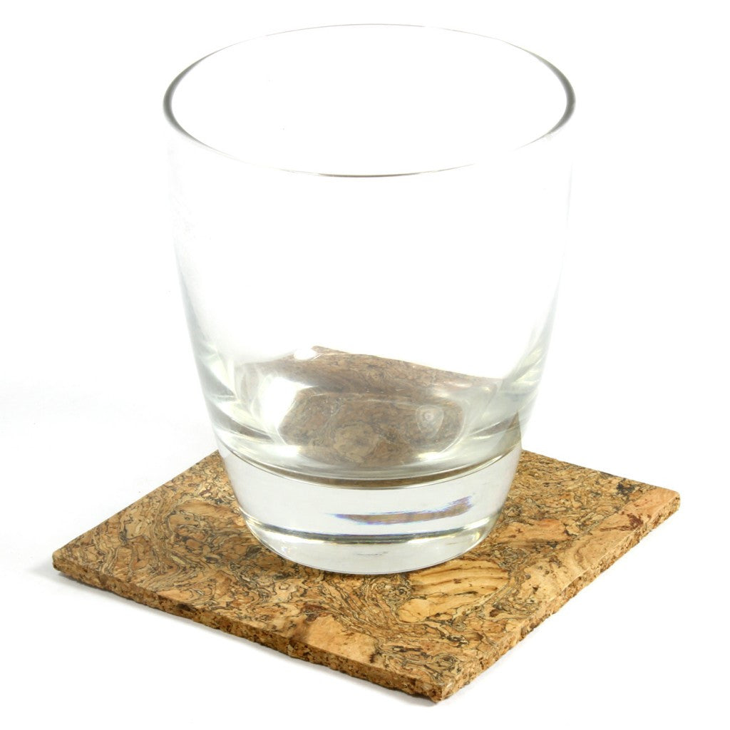 Coaster, Organic Granite, Set of 4 - CURRENTLY OUT OF STOCK - Cork