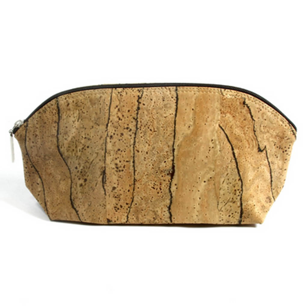 Cosmetic Bag, Zebra - Cork