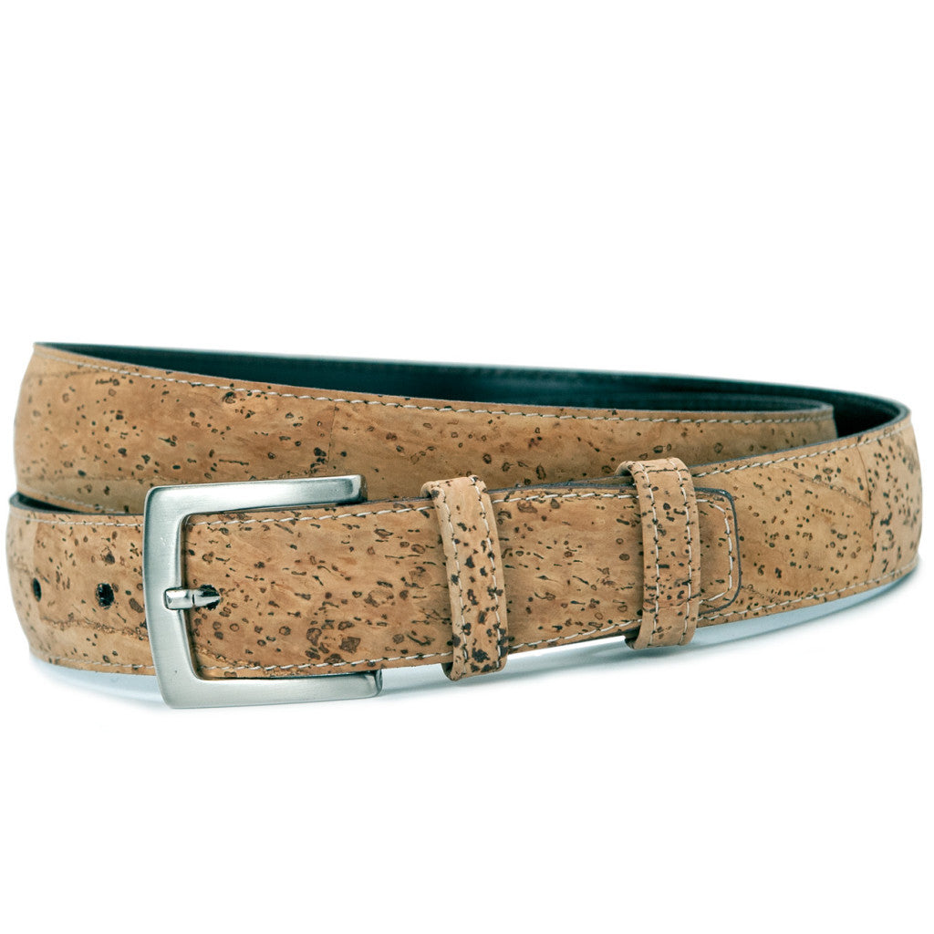 "34"" Dress Belt, Rustic - Cork"