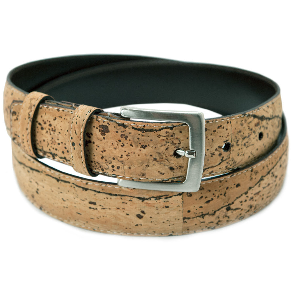 "38"" Dress Belt, Zebra - Cork"
