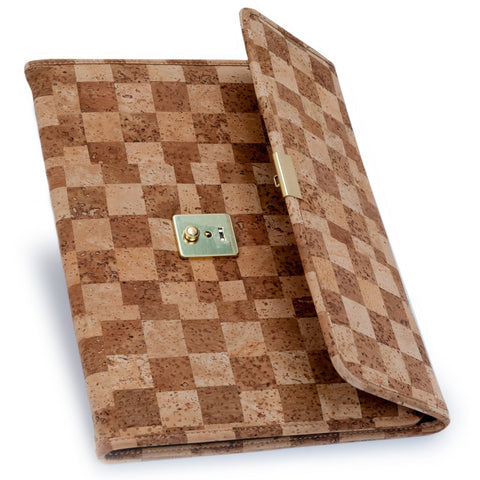 Portfolio, Light/Dark Natural Checkerboard - Cork