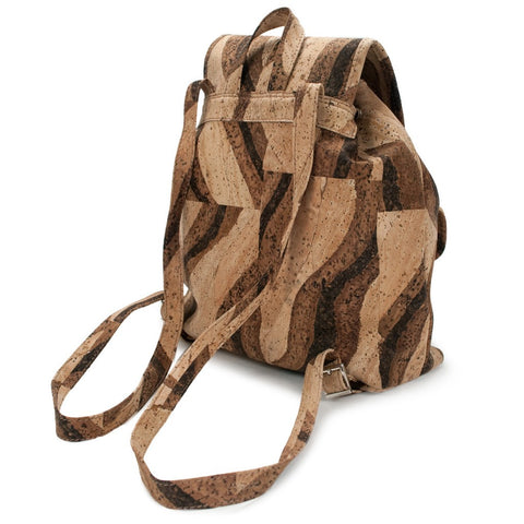 Delia, Bengal Tiger Backpack - Cork