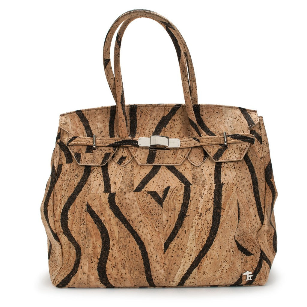 Princess Grace, Okapi Handbag - Cork