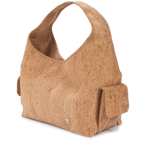 Mia, Natural Shoulderbag - Cork