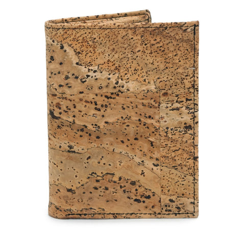 Men's Wallet, Rustic - Cork