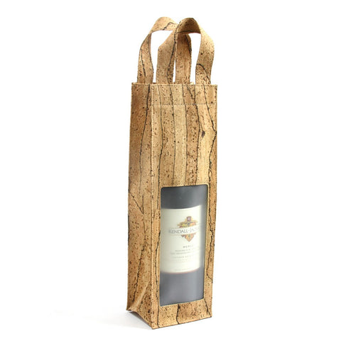 Wine Bag with window, Zebra
