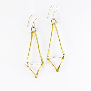 Triad Fine Forged Earrings