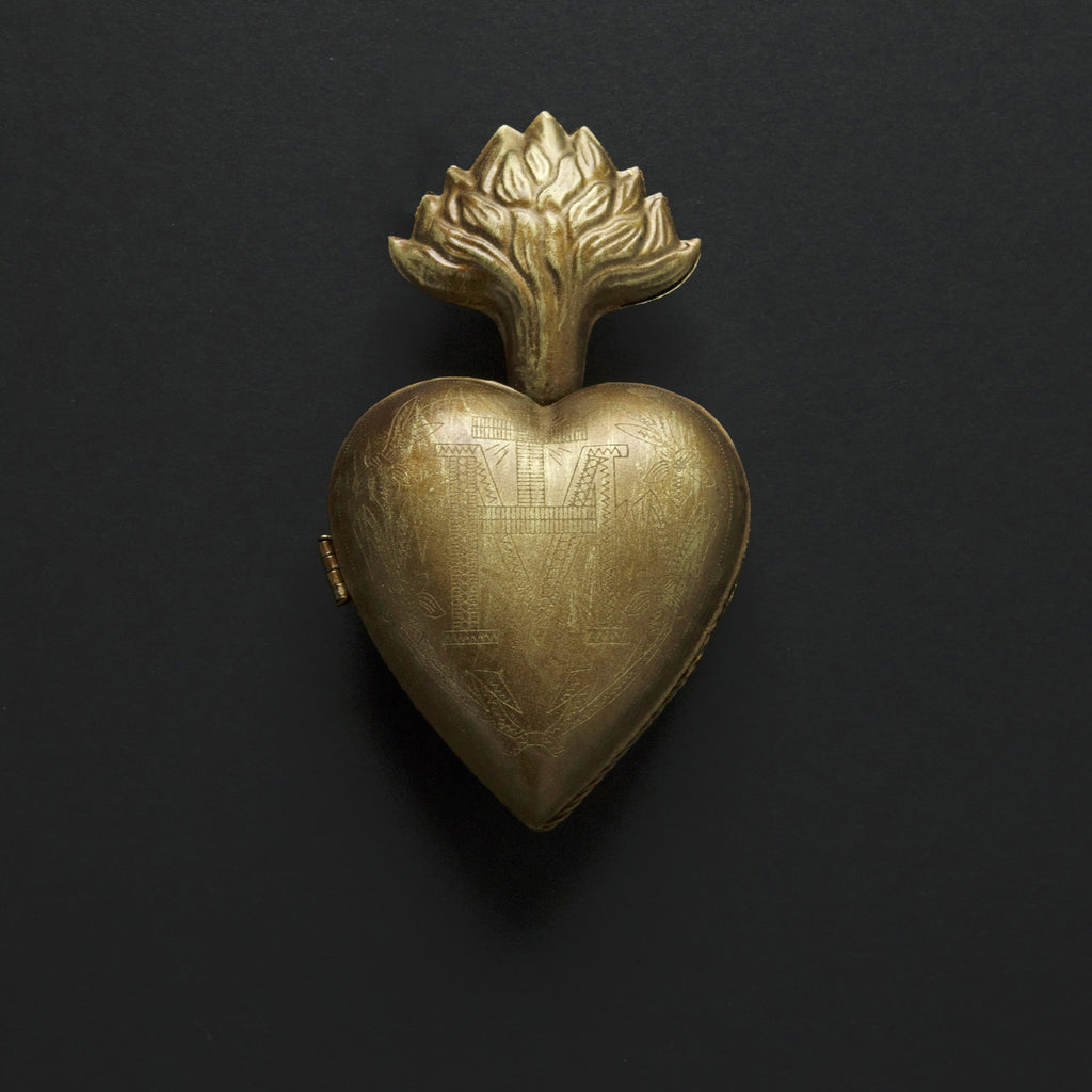 Gold Sacred Heart