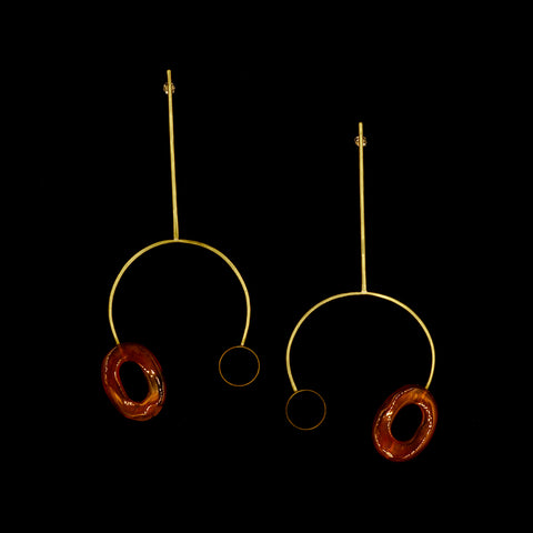 Large Tune Fork Earrings
