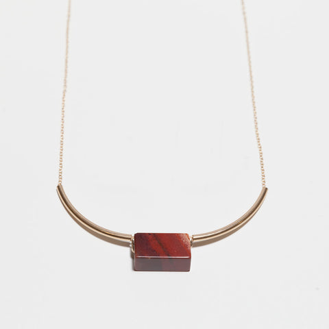 Red Jasper Mies Necklace
