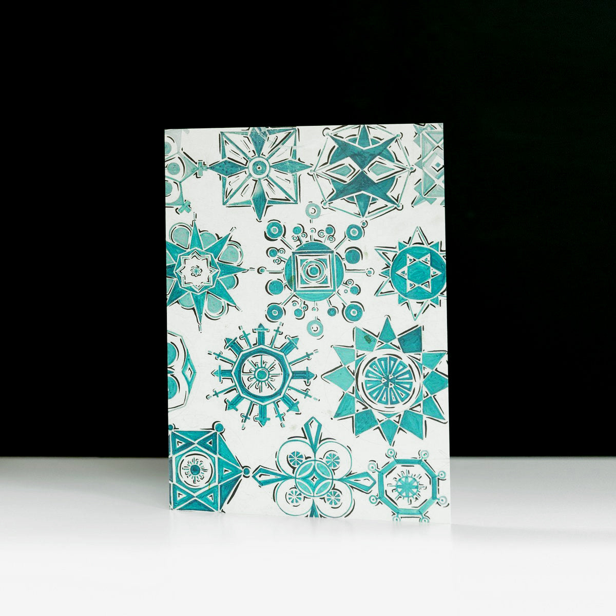 Snowflakes Holiday Cards