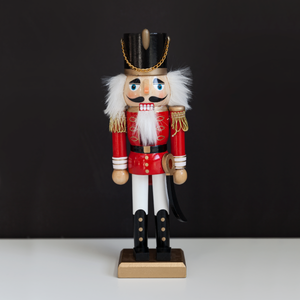 Red and White Nutcracker