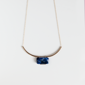 Lapis Mies Necklace