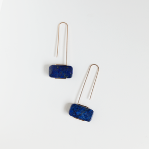 Lapis Marcel Earrings