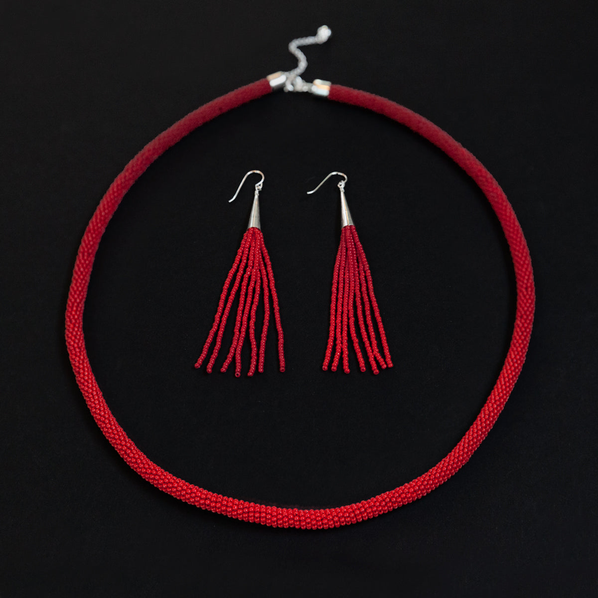 Red Gradient Necklace