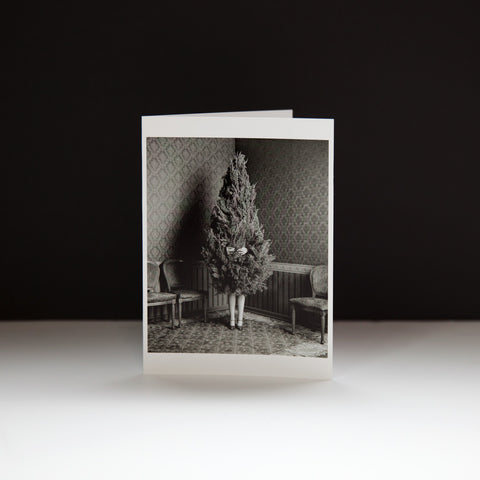 Tree Girl Holiday Card