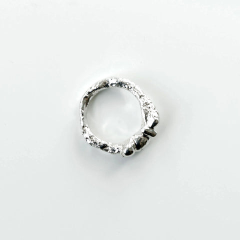 Reticulated Free-form Ring