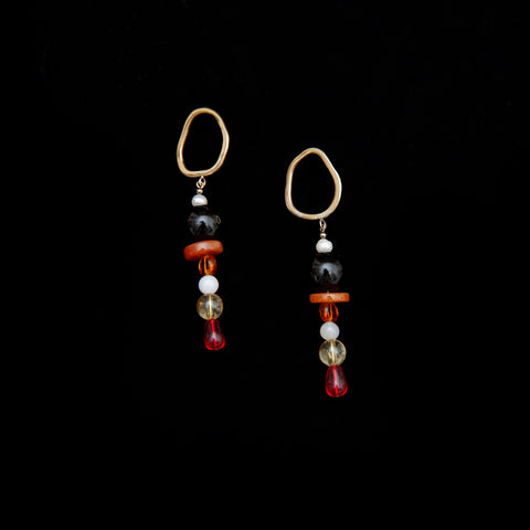 Tear Drop Rainbow Earrings