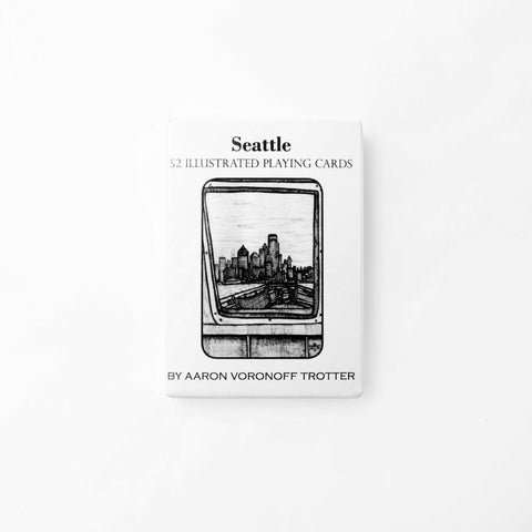 Seattle Illustrated Playing Cards