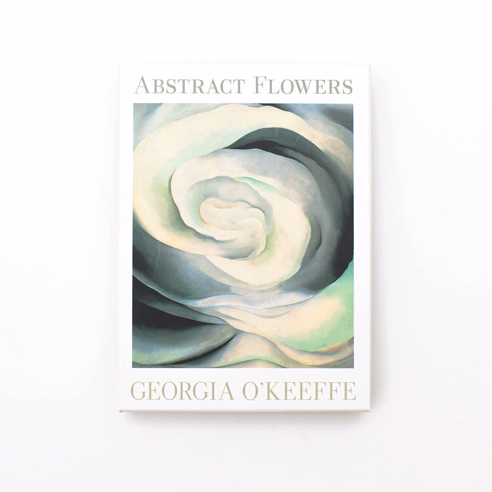 Abstract Flowers Notecards