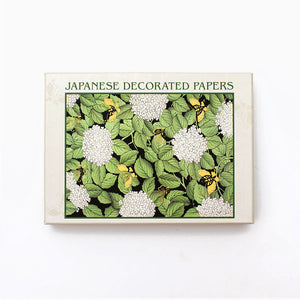 Japanese Decorated Papers Notecards