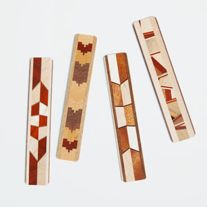 Inlaid Wood Bookmark