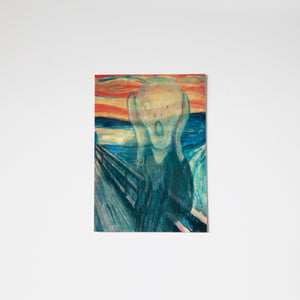 The Scream Lenticular Postcard
