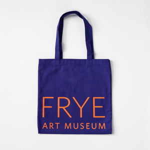 Purple and Orange Frye Tote