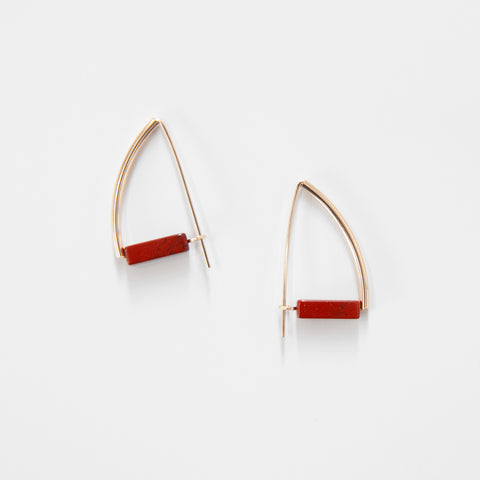 Red Jasper Ettore Earrings